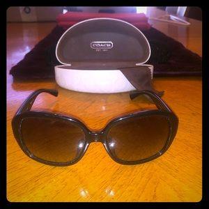 Coach Sunglasses case included.